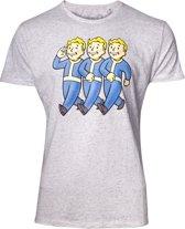 Fallout - Three Vault Boys Men s T-shirt