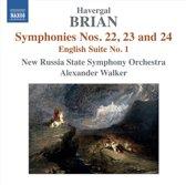 Brian: Symphonies 22-24