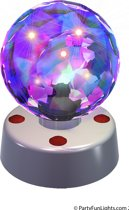 Disco ball 4 inch, 12V adapt.