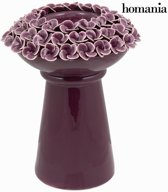 Paarse kandelaar met rozen - Enchanted Forest Collectie by Homania