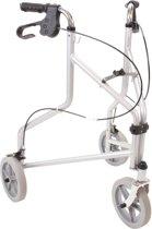 Premis delta inklapbare drie-wielrollator incl. mand, dienblad