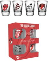 The Rolling Stones Mix Shotglazen Set