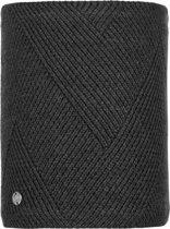 Buff Knitted & Polar Dames Nekwarmer - Black - One Size
