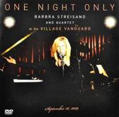 One Night Only Barbra Streisan
