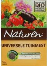 Naturen universele tuinmest - 1500 gram - set van 2 stuks