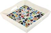 iHobby Box Dienblad met Getrommeld Glas