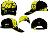 VR46 Cap Rossi (MOMCA315803) Monster Replica Black