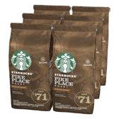 Starbucks® Pike Place® Medium Roast Gemalen Filterkoffie - 6 x 200 gram