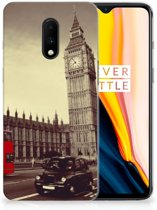 OnePlus 7 Siliconen Back Cover Londen