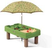 Step 2 Naturally Playful - Zand en Watertafel - Groen
