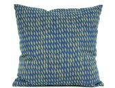 Cushion Tuned Mesh olive green w. dark blue square