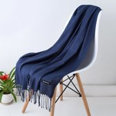 Cashmere Sjaal   Donkerblauw   Accessoires