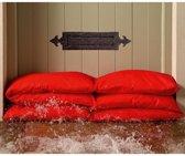 Absorberende waterzak - rood - set van 2 stuks
