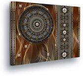 Mandala Canvas Print 80cm x 60cm