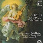Bach: Solo & Double Violin Concertos / Manze, Podger, et al