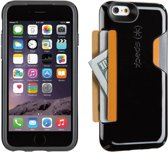 Speck CandyShell Card - Hoesje voor iPhone 6 / 6s - Black / Slate Grey Core