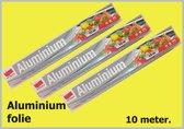 3 x Aluminium folie