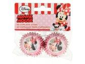 Minnie Mouse mini cupcake vormpjes