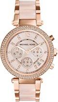 Michael Kors Parker MK5896  - Horloge - Staal - Rosékleurig - Ø 39 mm
