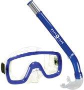 Aqua Lung Sport Peeka + Tonga - Snorkelset - Junior - Blauw
