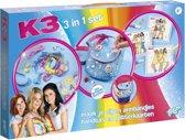 K3 3 in 1 Creativity Set - knutselen Totum