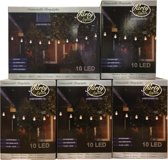 Partylights Set - Koppelbaar - Buiten - 50 LED - Warm wit - 25m