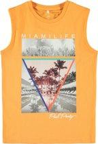 Name it Jongens T-shirt - Orange Pop - Maat 110