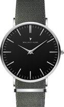 Wallace Hume Zwart - Horloge - NATO - Grijs