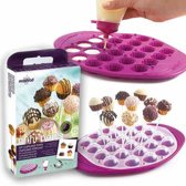 Mastrad Cupcake Pop Molds - Giftset - Berry