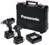 Panasonic EYC215LJ2G Combiset - Accuboormachine en Slagschroefmachine - 18v 5.0Ah Li-ion
