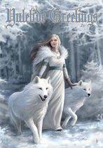 Anne Stokes Kerstkaart Winter Guardians