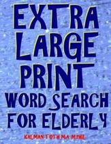 Extra Large Print Word Search for Elderly