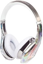 Monster Diamond Tears Edge Crystal - On-ear koptelefoon - Wit/Transparant