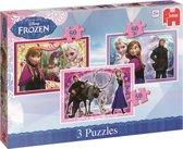 Jumbo Disney Frozen 3-in-1 puzzel 50 stukjes