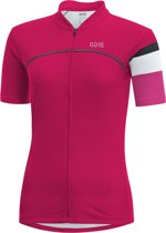 GORE WEAR C5 Fietsshirt korte mouwen Dames roze Maat 42
