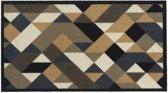 Schoonloopmat Impression diamond 40 x 70 cm