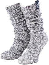 SOXS Hippe wollen sokken blauw  - maat 37 t/m 41
