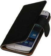1340b00e5b4 Washed Leer Bookstyle Hoes voor Nokia Lumia 900 Zwart