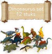 12 delige dinosaurus speel set