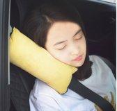 3D Gordelkussen | Gordel Beschermer | Meerdere Kleuren | Kindvriendelijk | Slaapkussen Voor Op Reis | Nek Kussen Voor Onderweg | Optimaal Comfort