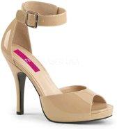 Pleaser Pink Label Hoge hakken -45 Shoes- EVE-02 Creme