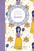 Zodiac Journal - Gemini: Astrology Constellation May June Warrior Goddess Nymph Journal Notebook Diary College-Ruled