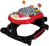 Baninni Loopstoel Presto 3-in-1 - Met schommel & springplankje - Rood-Zwart