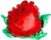 folieballon - roos - leeg