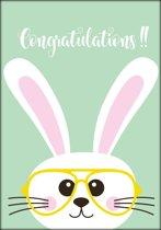 Fabs World ansichtkaart 'Congratulations'