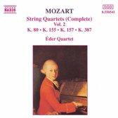 Mozart: String Quartets Complete Vol. 2 / eder Quartet