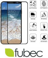 Iphone X (Iphone 10) 3D Screenprotector Tempered glass - Fubec