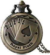 Zakhorloge - Royal Flush- Brons # 55