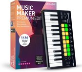 Magix, Music Maker Performer Edition (Incl. Luxe Keyboard)