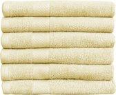 Katoenen Handdoeken Hotelkwaliteit – 15 Pack – 70 x 140 cm – Crème